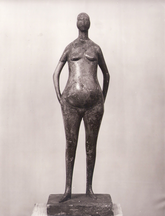 1961 - Pietra Artificiale - 58cm - Museo d'Arte Moderna di Colonia, Museum Ludwig, (Haubrich Collection) acquista una sua Scultura