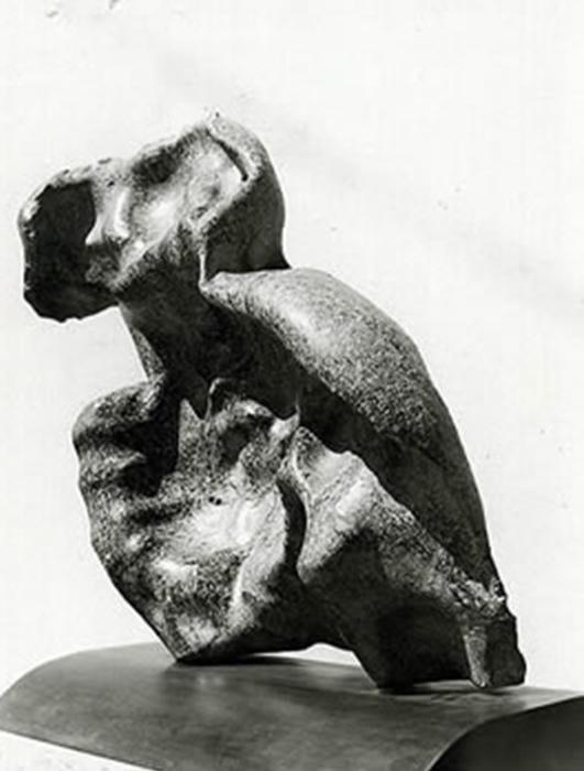 1974 - Pietra - Coll. Ing. Antonio Catanese - Milano - 82x75cm