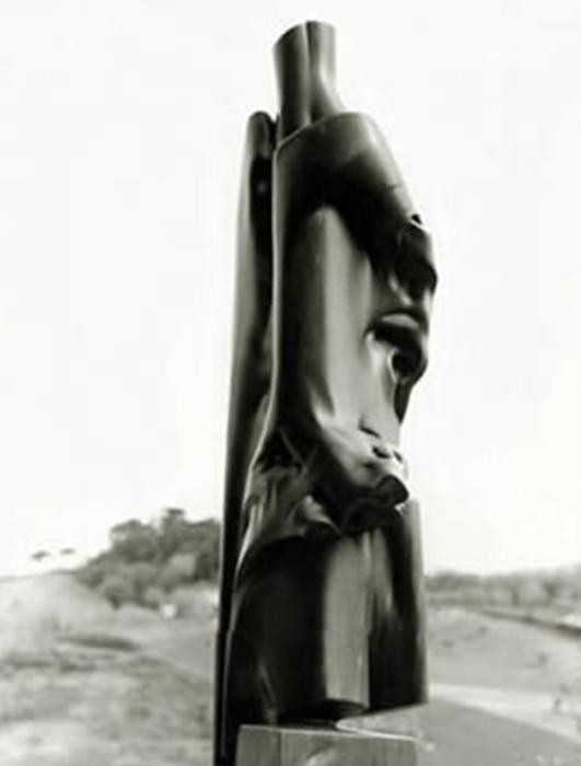 1998 - Marmo Bardiglio - Coll. Schwan - Heilbronn - 180x60cm