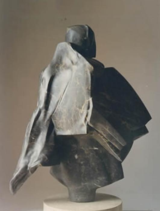1998 - Marmo Portoro - Hannover - Coll. Schreiber - 104x46cm