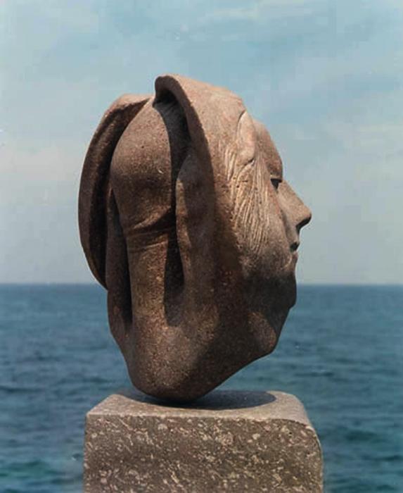 1999 - Pietra d'Ischia - Coll. A.Schwan - Heilbron  - 42x40cm