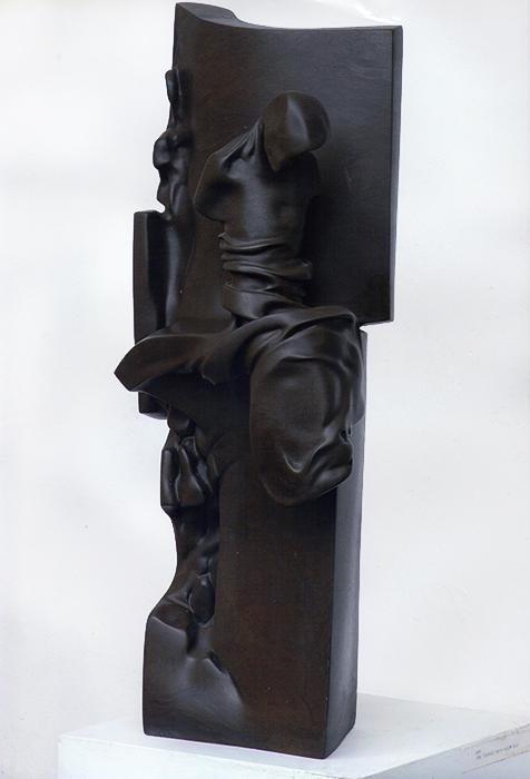 2001 - Pietra Tunisina -  Ischia - Coll. de Angelis - Opera Esposta alla biennale di Venezia Regione Campania - 76x38cm