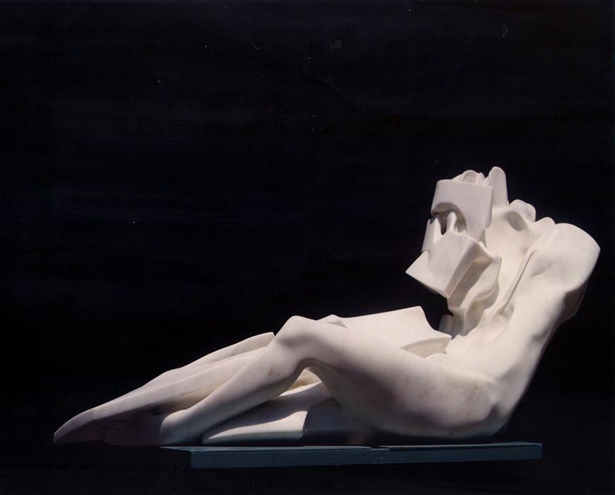 2002 - Marmo - Metamorfosi - Lubeck - Coll. Galleria Mueller - Petzinna - 71x130cm