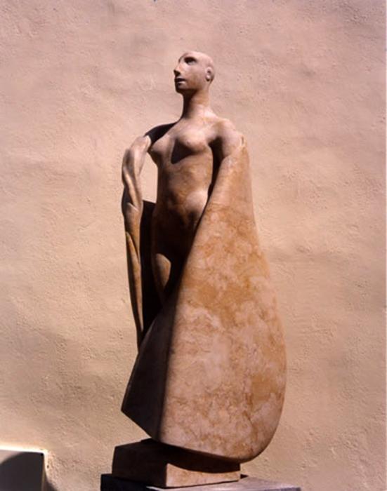 2003 - Marmo Spagnolo - Ischia - G. de Angelis - 93x43cm