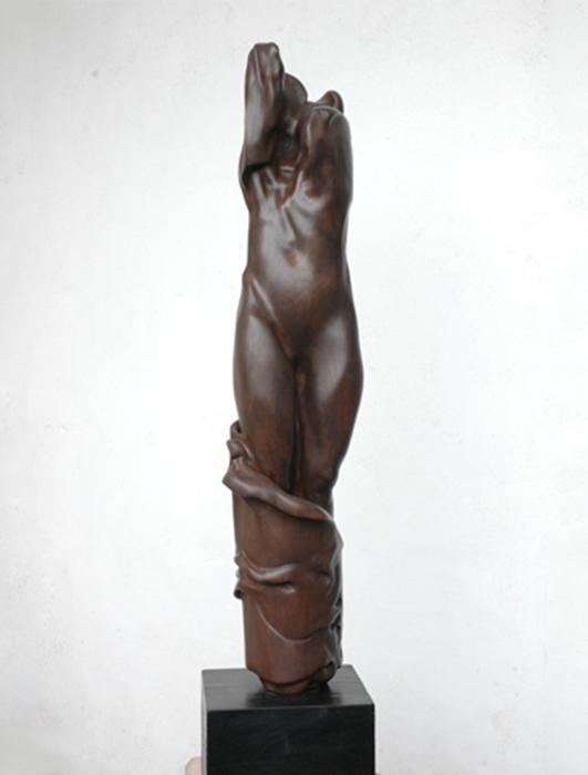 2004 - Legno - Metamorfosi - Atene - 115x27cm