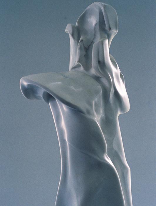 2005 - Marmo Bianco di Carrara - Dettaglio - Berlin - Coll. Wagner - 110x26cm