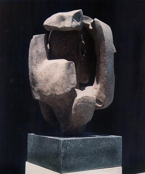2006 - Pietra d'Ischia - Testa nella Roccia - Napoli