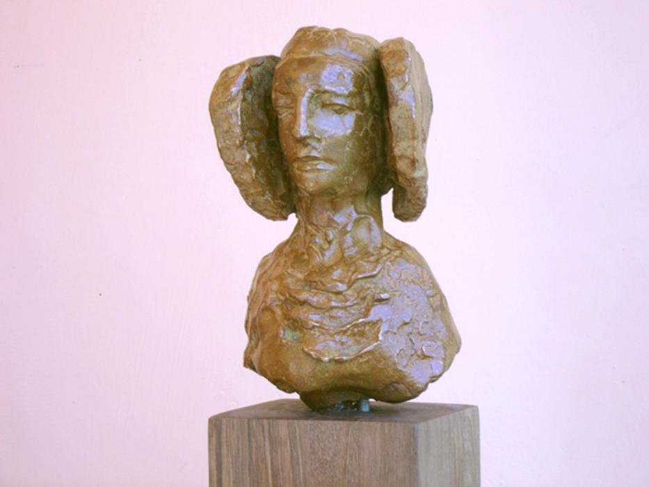 2007 - Scultura in Bronzo - Dama di Elce