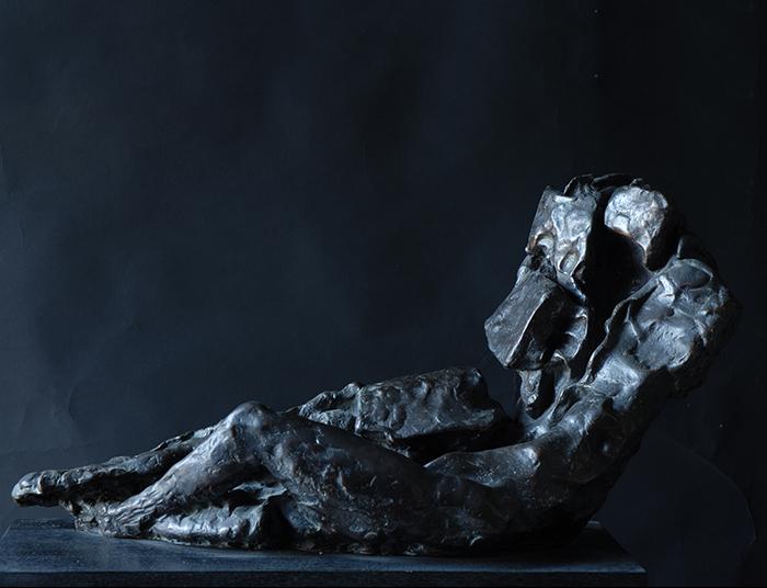 2009 - Bronzo - Metamorphose - Assisi - Coll. Sensi - 32x75cm
